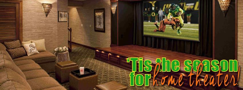 3Rs Construction Salem Oregon tis the season for home theater