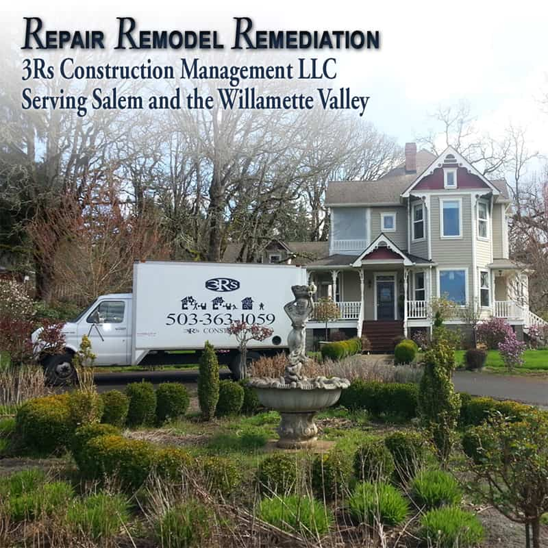 3Rs Construction Whole Home Repair Remodel Remediation General Contractor