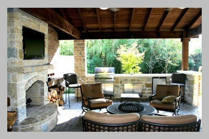 Patio Covered Deck Or Outdoor Kitchen, Outdoor Covered Patio