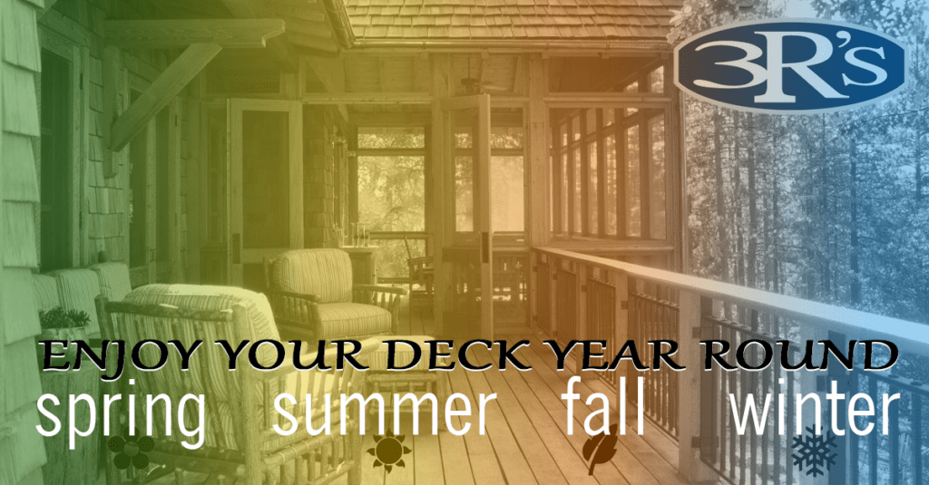 3Rs Construction in Salem Oregon Enjoy Your Deck Year Round