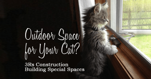 Outdoor space for your cat 3Rs Construction Catio