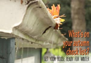 3Rs Construction can help you with your autumn check list