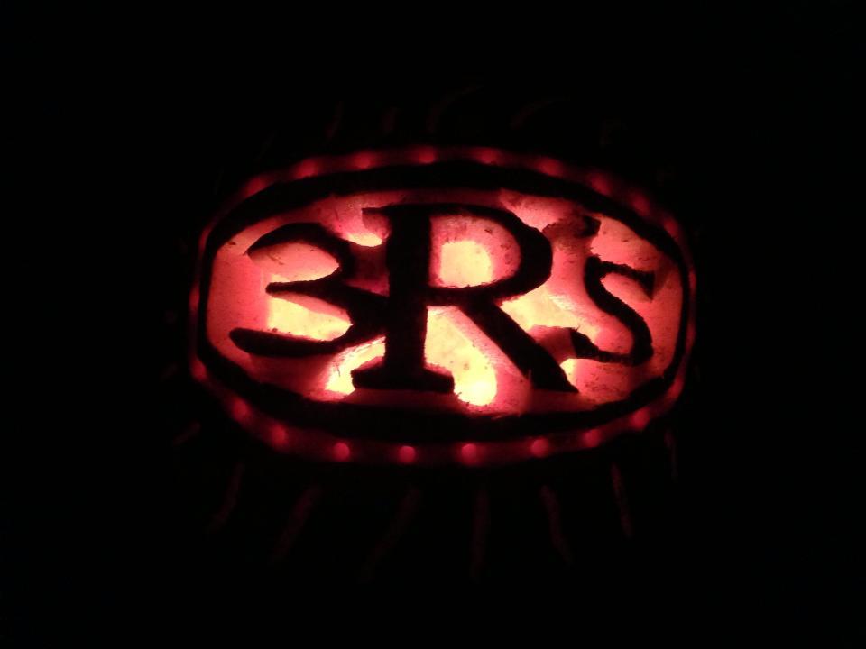 3Rs Construction Logo pumpkin