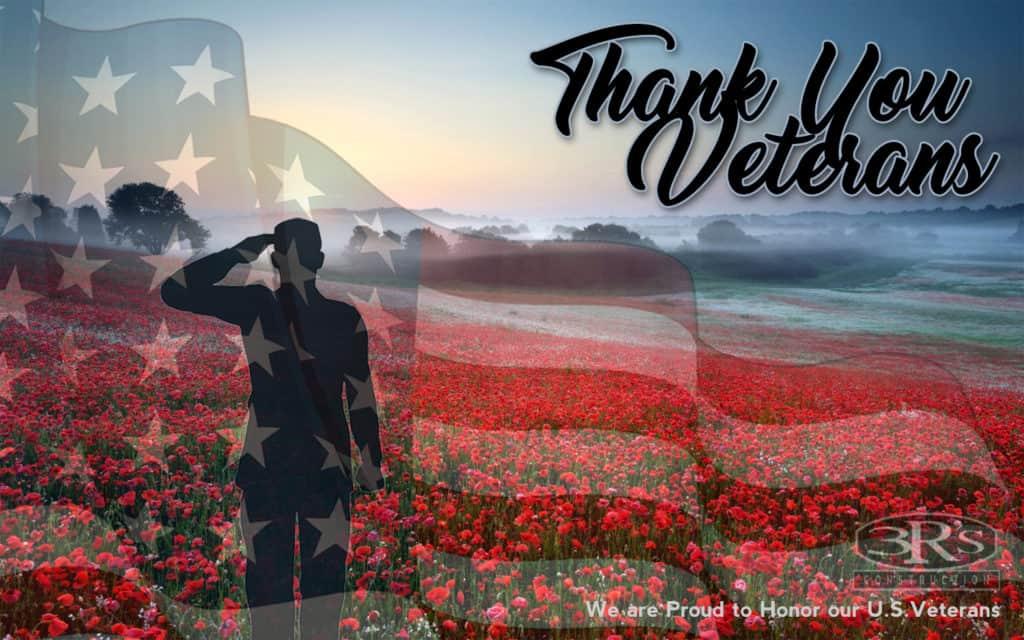 3Rs Construction Salem Oregon Honors our Veterans