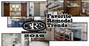 3Rs Construction Salem Oregon 2016 Favorite Remodel Trends