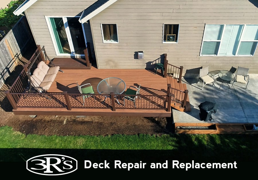 Deck Repair and Replacement by 3Rs Construction
