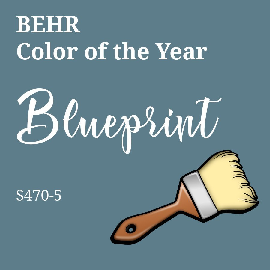 Blueprint color of the year review by 3Rs Construction