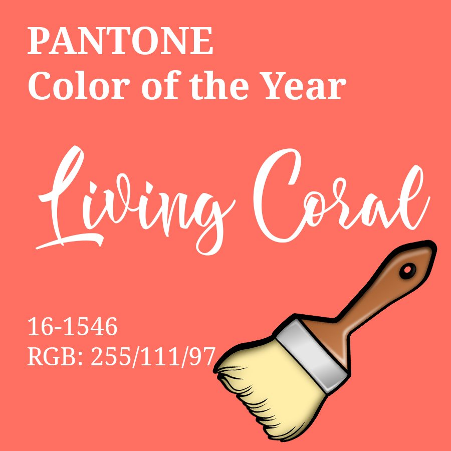 Living Coral color of the year review by 3Rs Construction