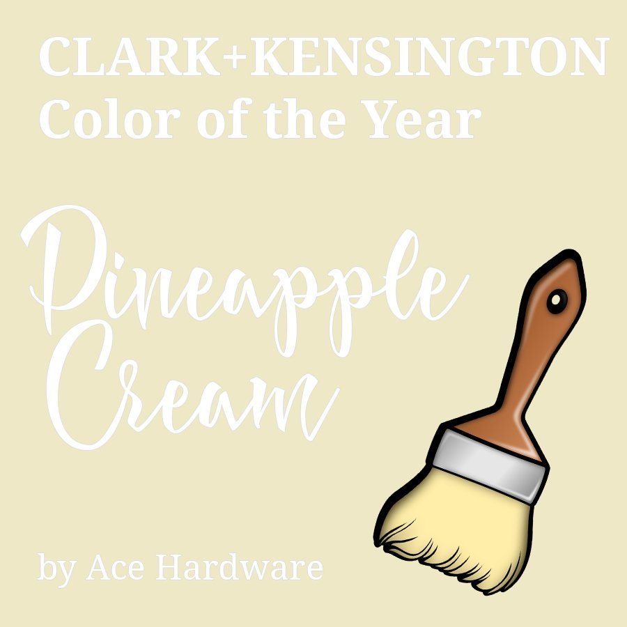 Pineapple Cream color of the year review by 3Rs Construction