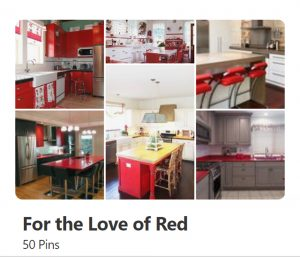 3Rs Construction Pinterest for the love of red