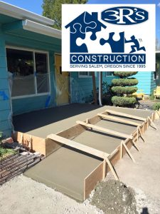 3Rs Construction Concrete Cement Ramp Aging in Place