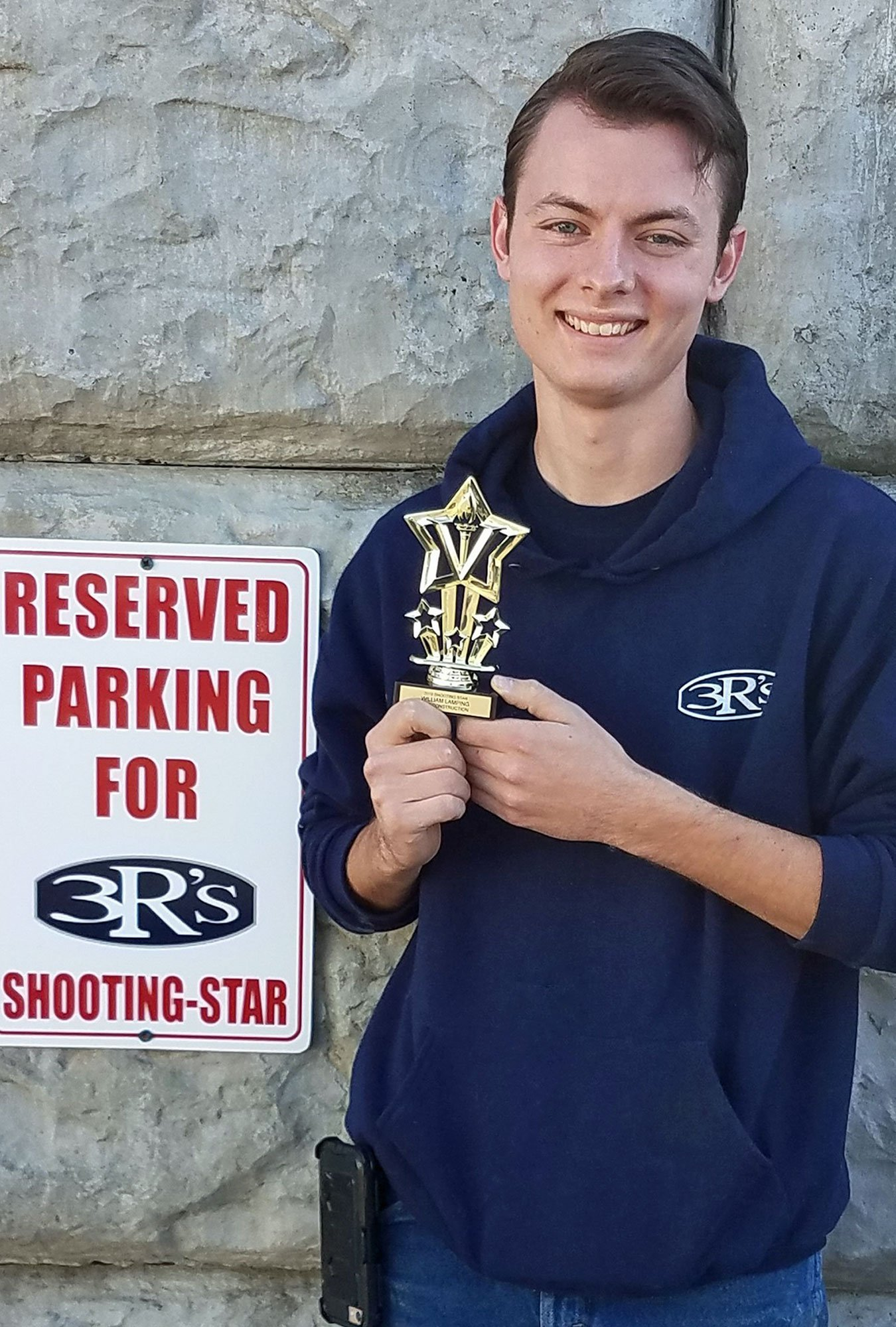3Rs Construction's Shooting Star of the Year 2019