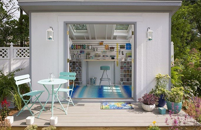 ART shed Outdoor Living Space