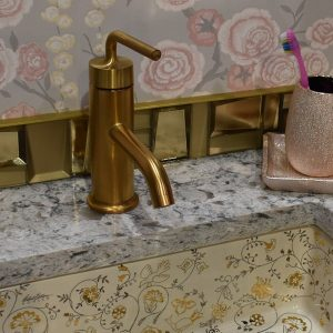 Bathroom Brass Fixture 3Rs Construction