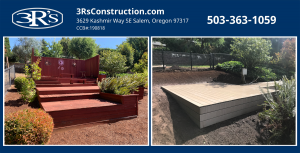3Rs Construction before and after deck repair and remodel