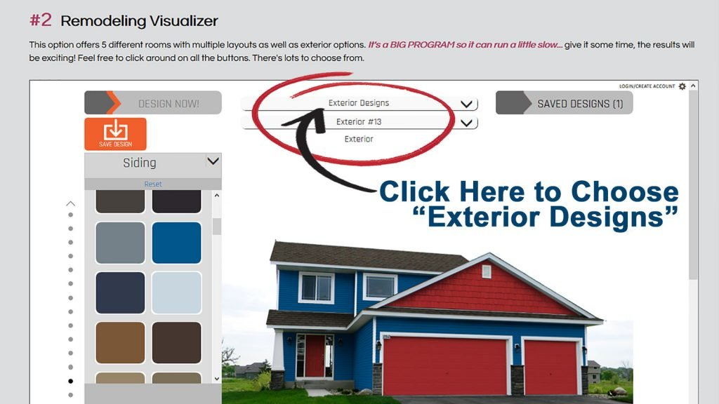 3Rs Construction Visualizer for Exterior Paint