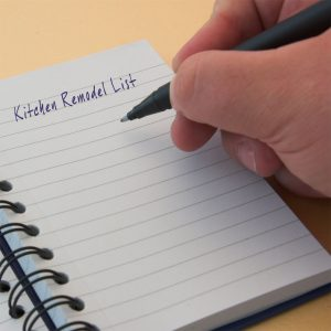 3Rs Construction Recommends Making a Kitchen Planning List