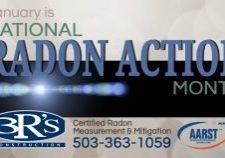 3Rs Construction January is Radon Action Month